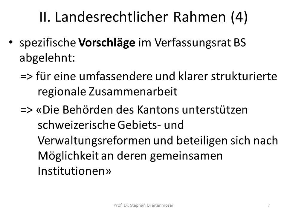 II. Landesrechtlicher Rahmen (4)