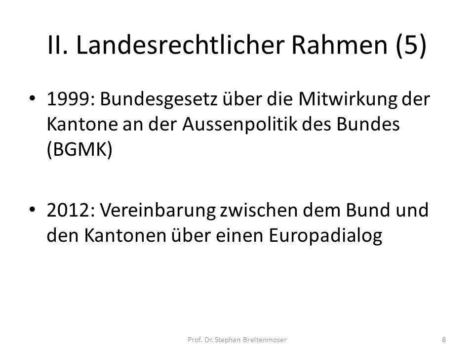 II. Landesrechtlicher Rahmen (5)