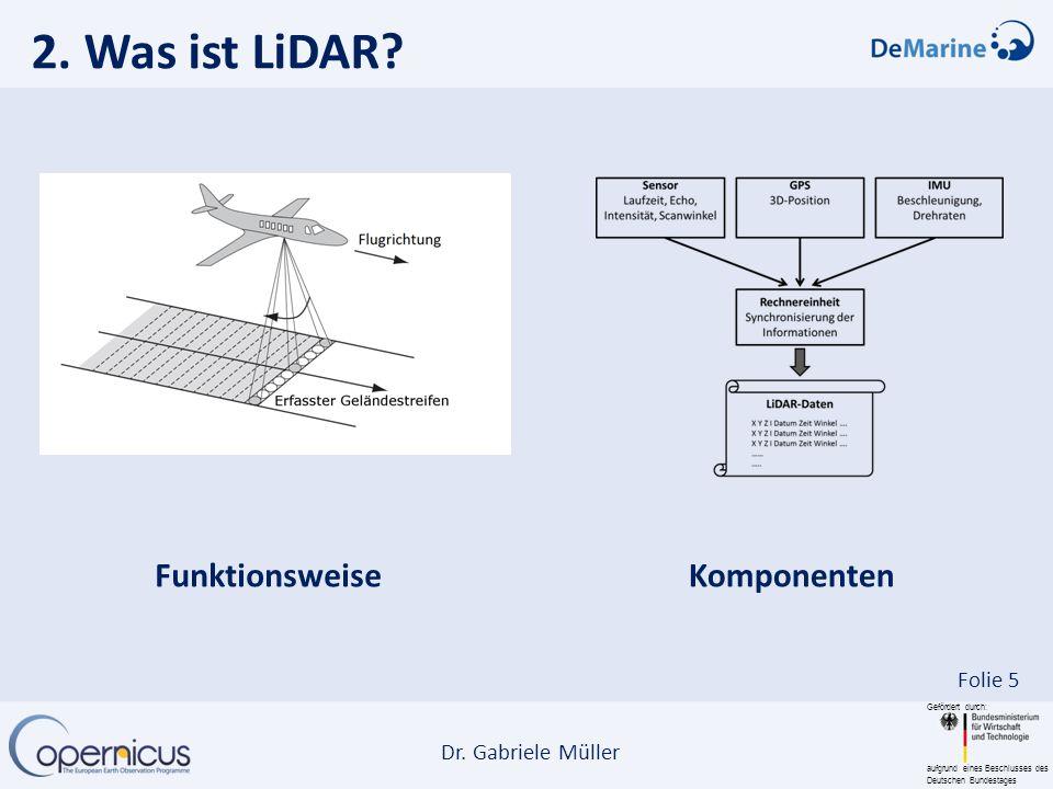 2. Was ist LiDAR Funktionsweise Komponenten