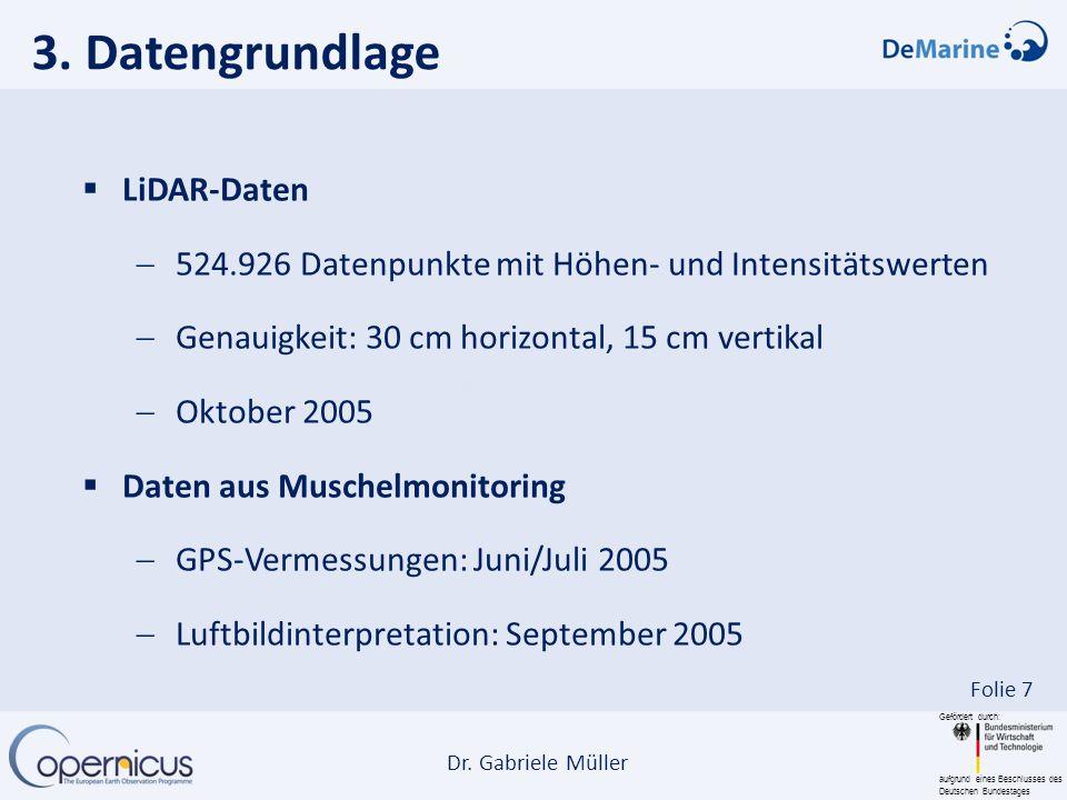 3. Datengrundlage LiDAR-Daten