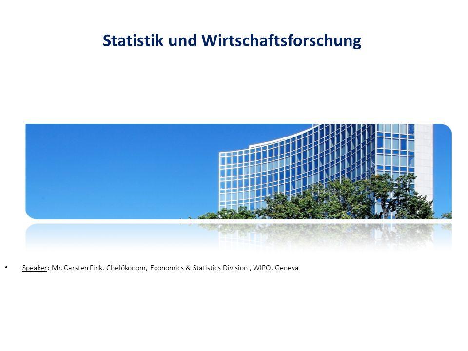 Statistik und Wirtschaftsforschung