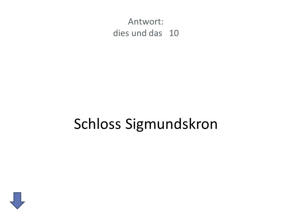 Antwort: dies und das 10 Schloss Sigmundskron