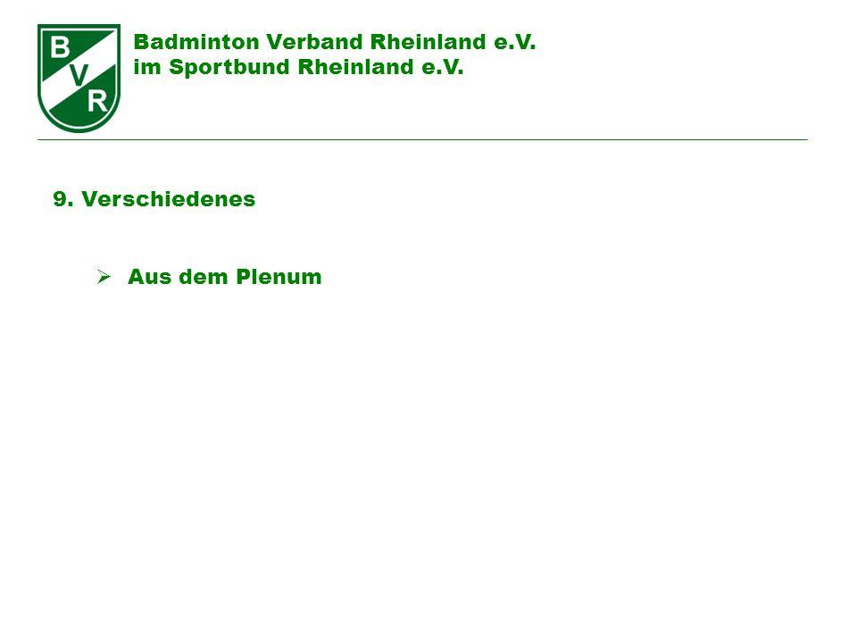Badminton Verband Rheinland e.V.