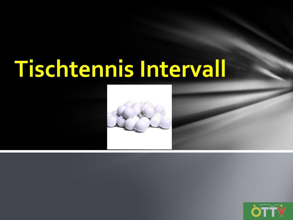 Tischtennis Intervall