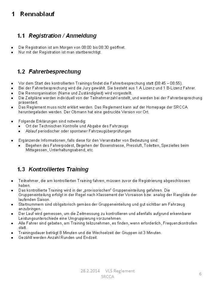 28.2.2014 VLS Reglement SRCCA