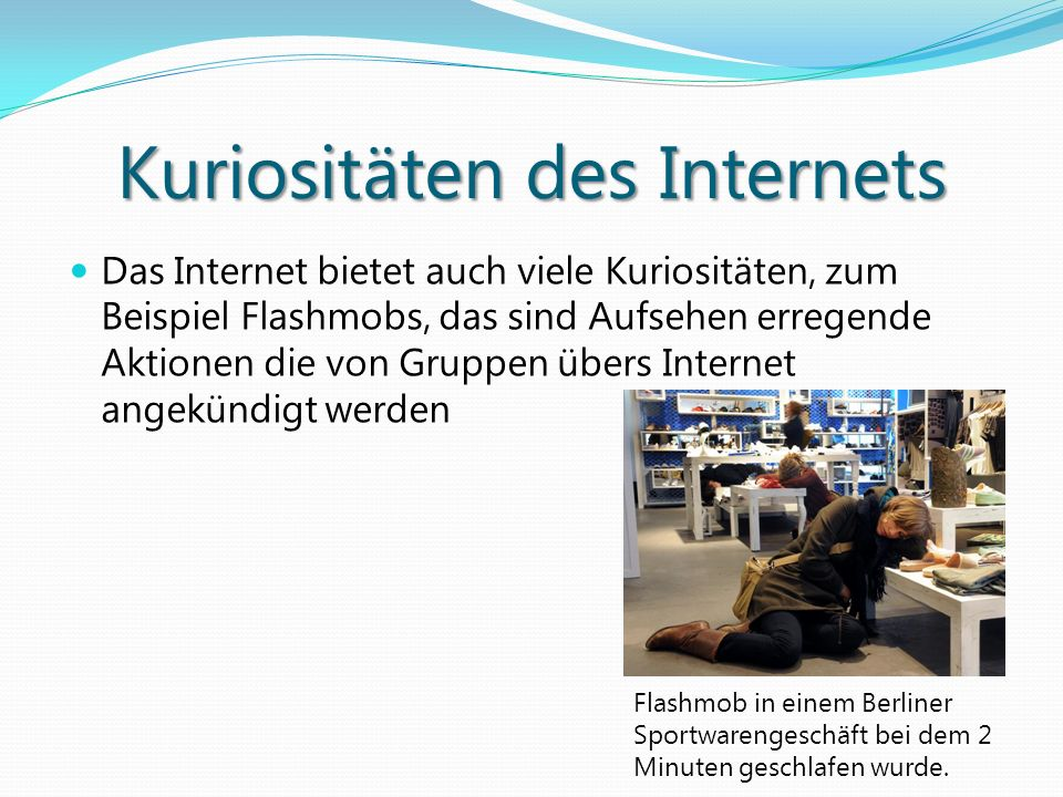 Kuriositäten des Internets