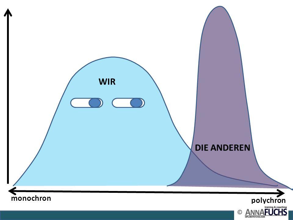 WIR DIE ANDEREN monochron polychron ©