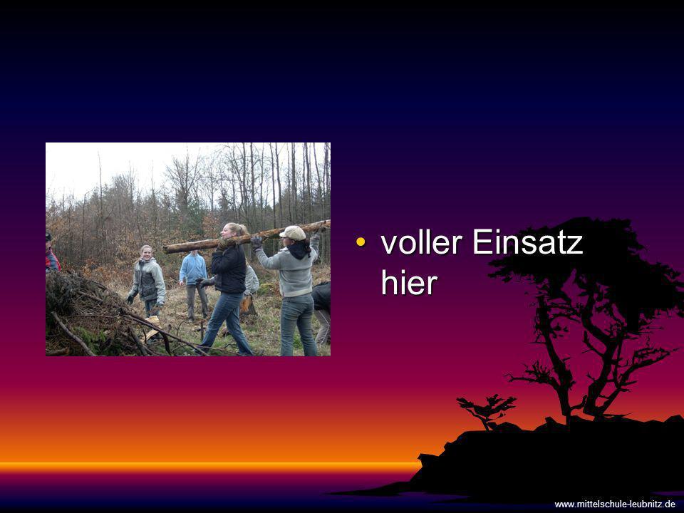 voller Einsatz hier www.mittelschule-leubnitz.de