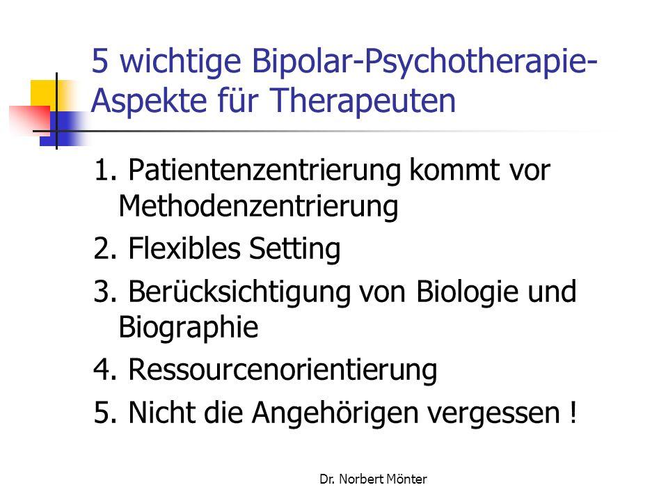 5 wichtige Bipolar-Psychotherapie-Aspekte für Therapeuten
