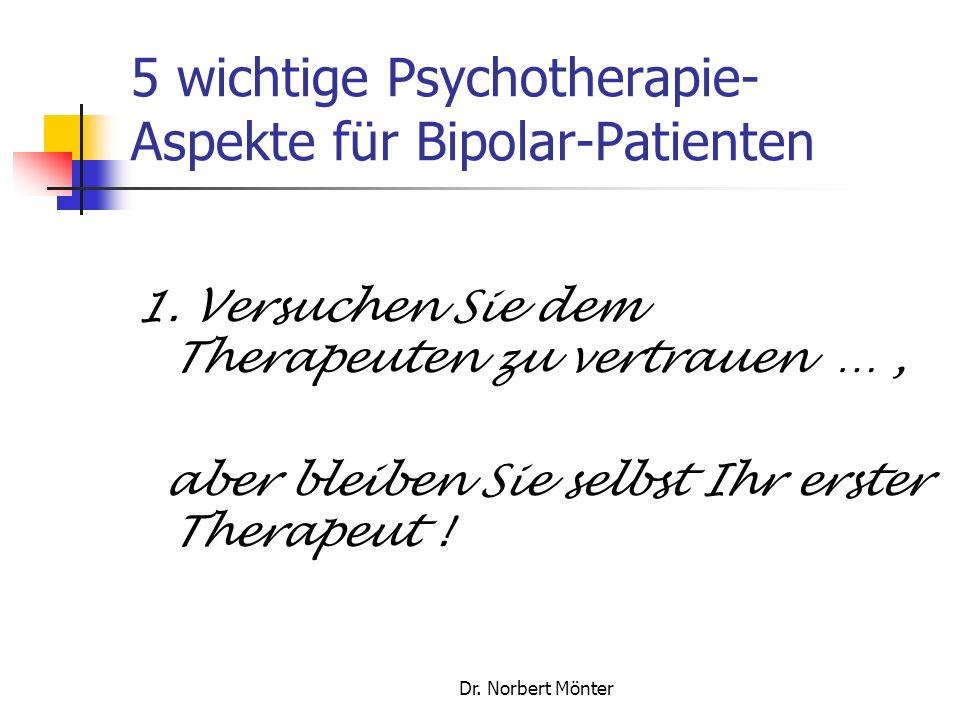 5 wichtige Psychotherapie-Aspekte für Bipolar-Patienten