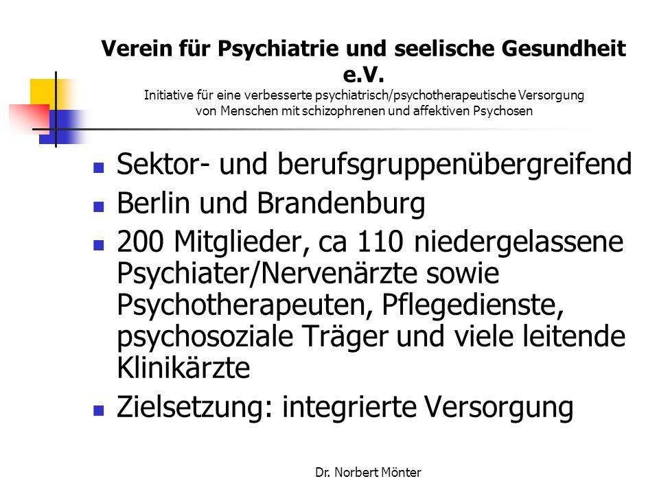 Sektor- und berufsgruppenübergreifend Berlin und Brandenburg