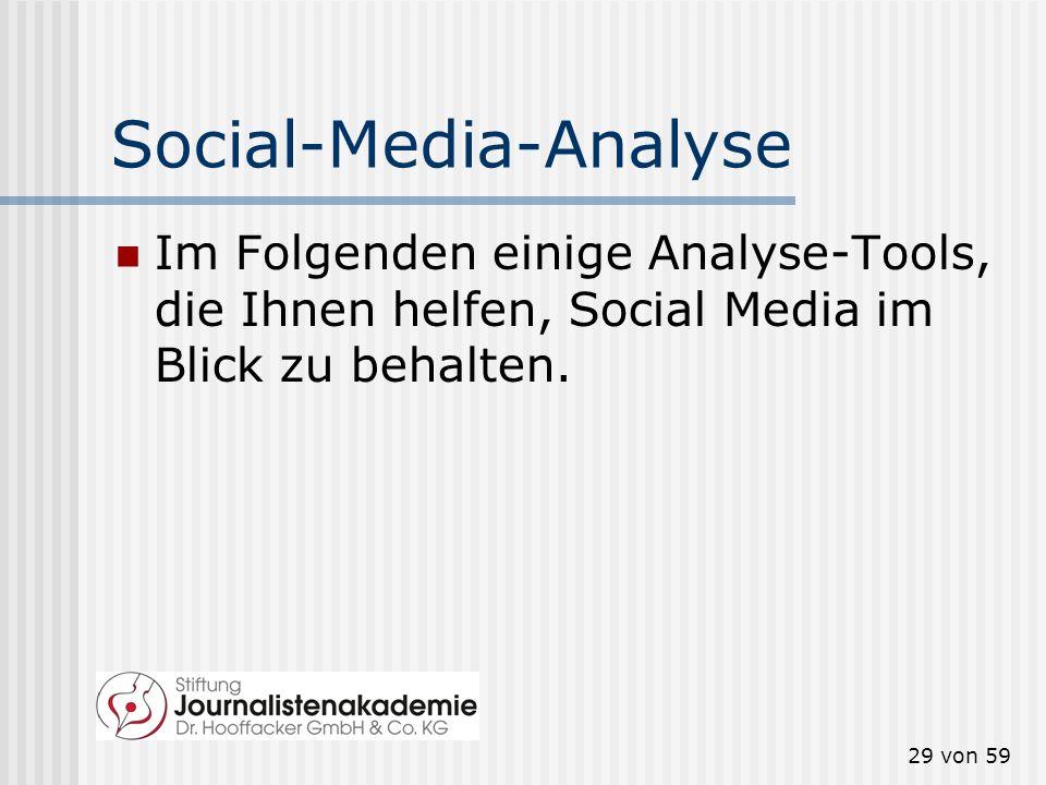 Social-Media-Analyse