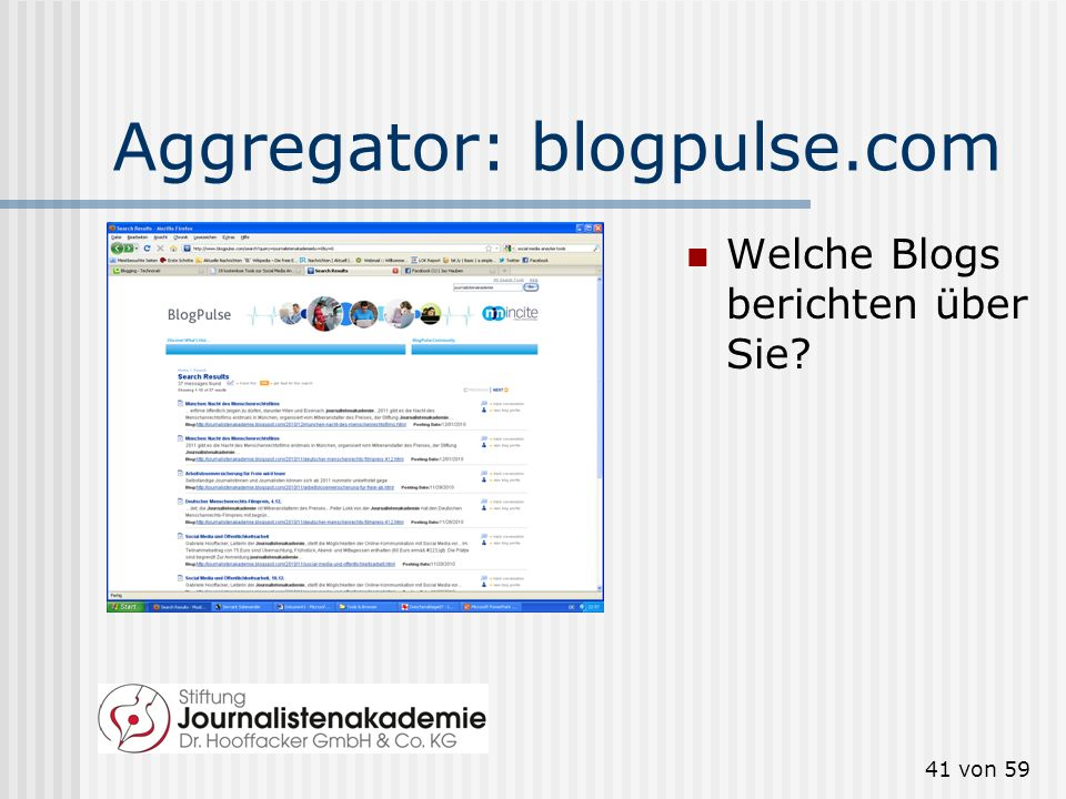 Aggregator: blogpulse.com