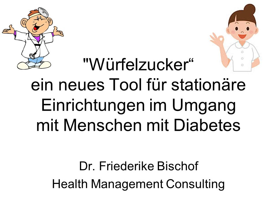 Dr. Friederike Bischof Health Management Consulting