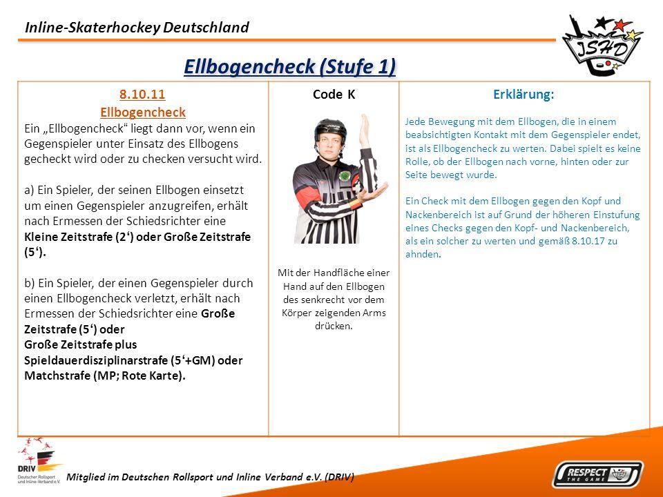 Ellbogencheck (Stufe 1)