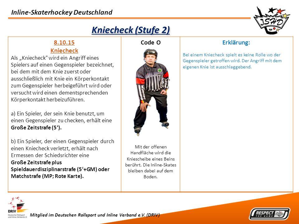 Kniecheck (Stufe 2) 8.10.15 Kniecheck Code O Erklärung: