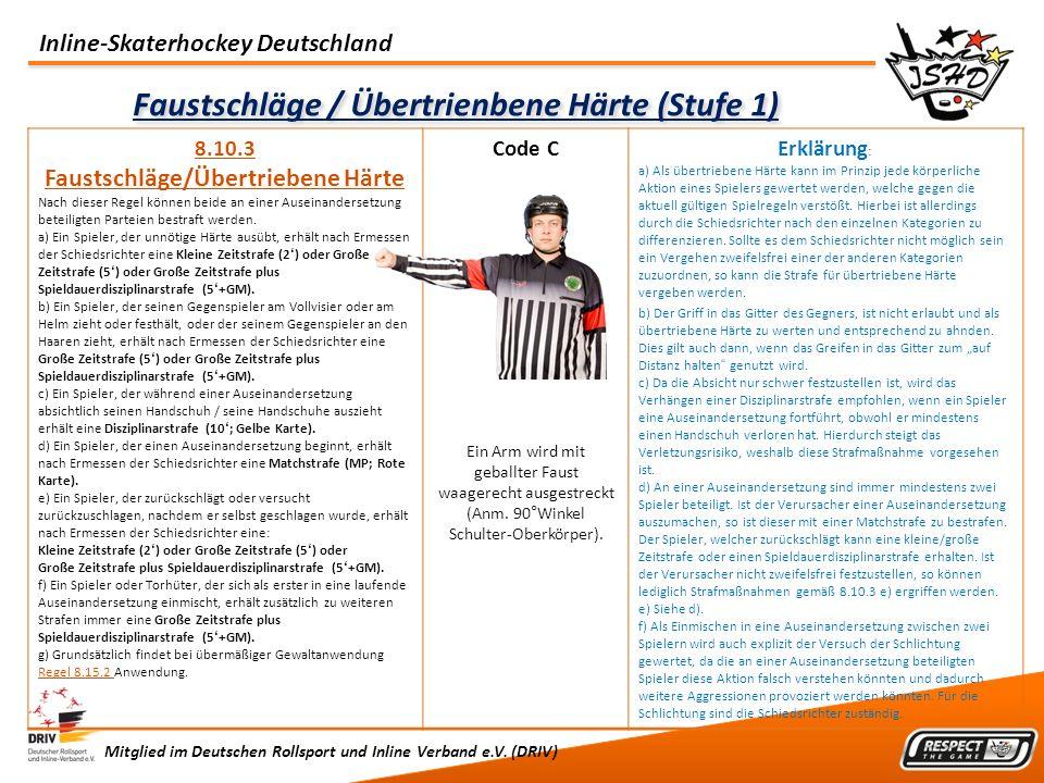 Faustschläge / Übertrienbene Härte (Stufe 1)