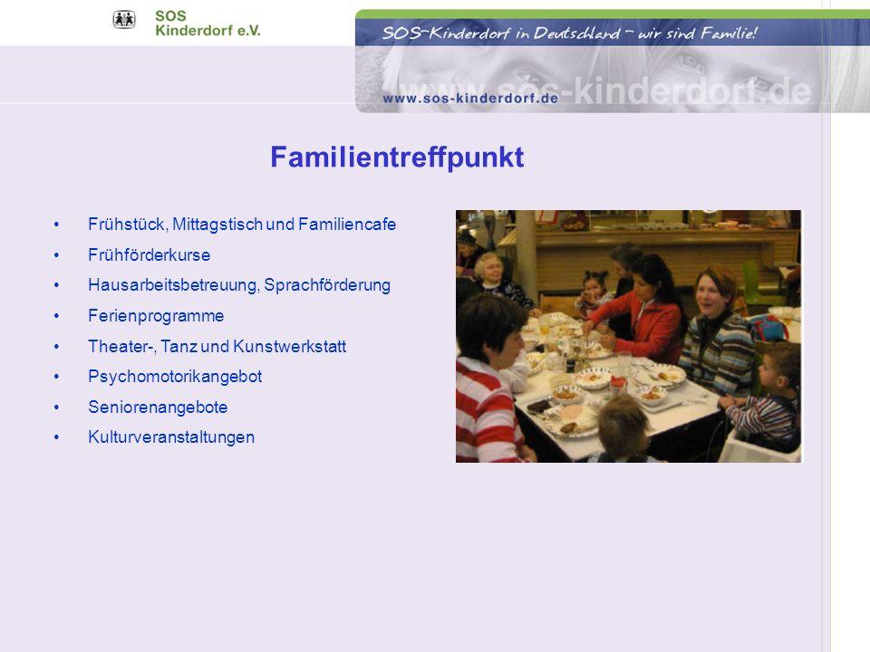 Familientreffpunkt Frühstück, Mittagstisch und Familiencafe