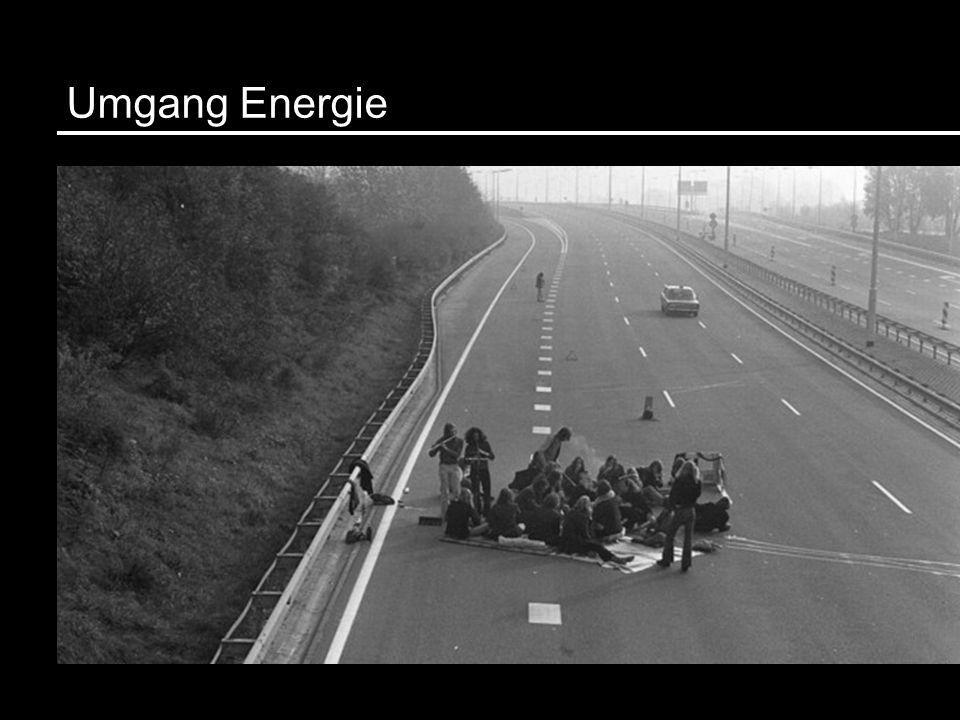 Umgang Energie Bild autofreier Sonntag November 1973