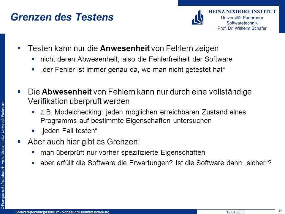 Softwaretechnikpraktikum: Vorlesung 5