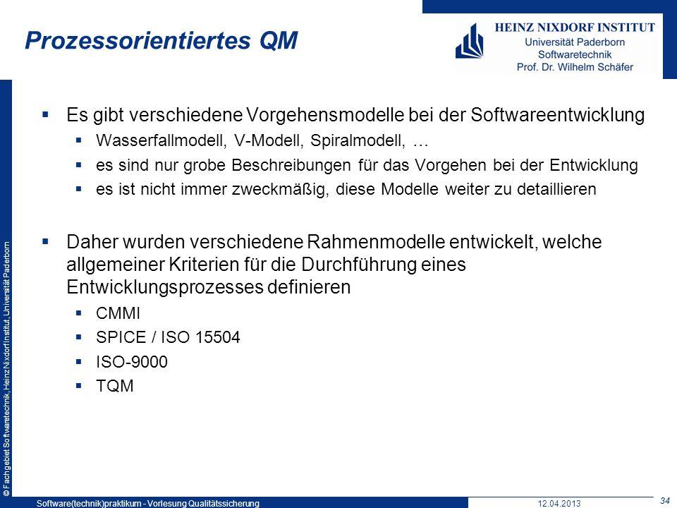 Prozessorientiertes QM