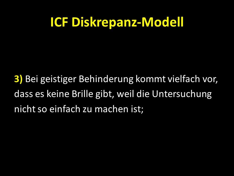 ICF Diskrepanz-Modell
