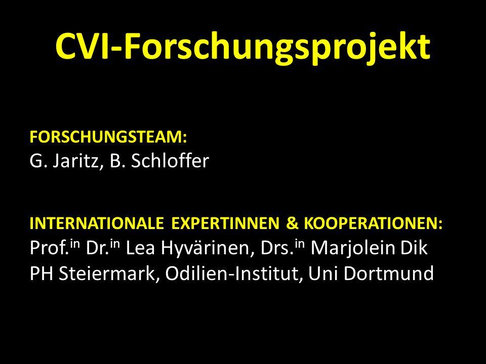 CVI-Forschungsprojekt