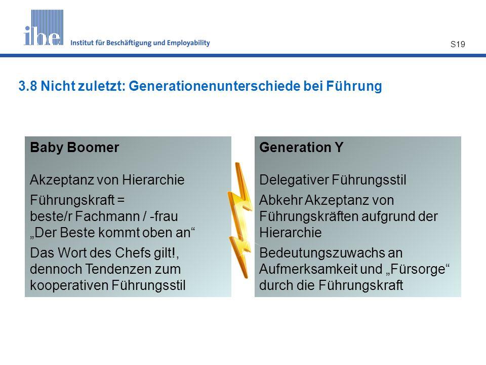 3.8 Nicht zuletzt: Generationenunterschiede bei Führung