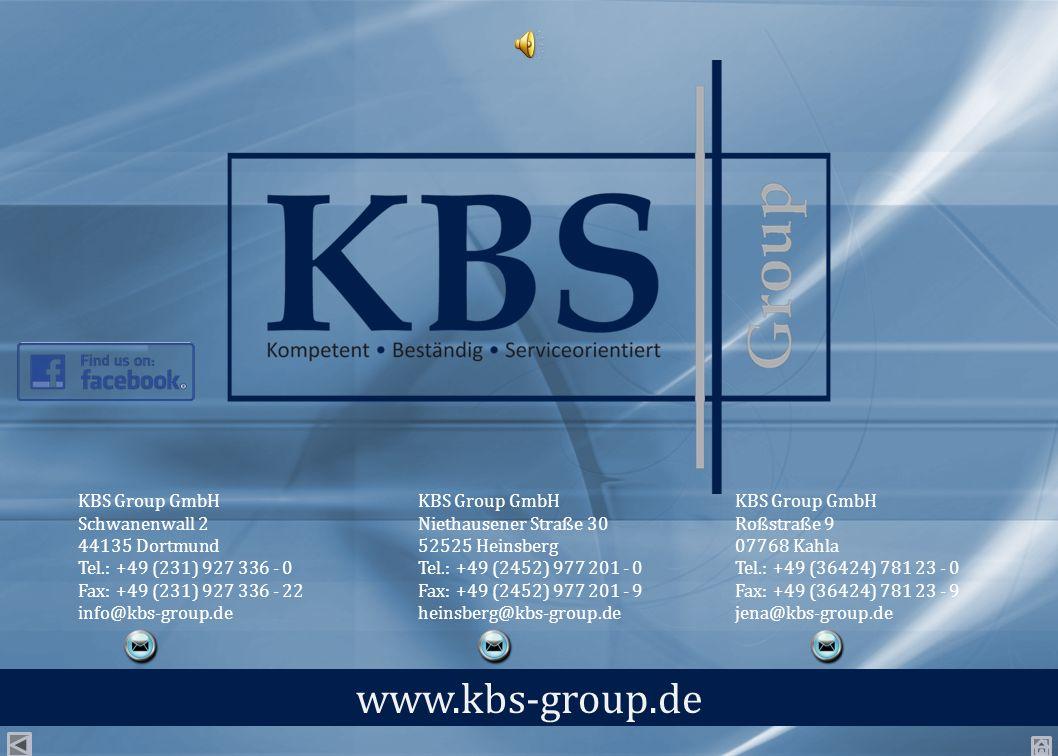 www.kbs-group.de KBS Group GmbH Schwanenwall 2 44135 Dortmund