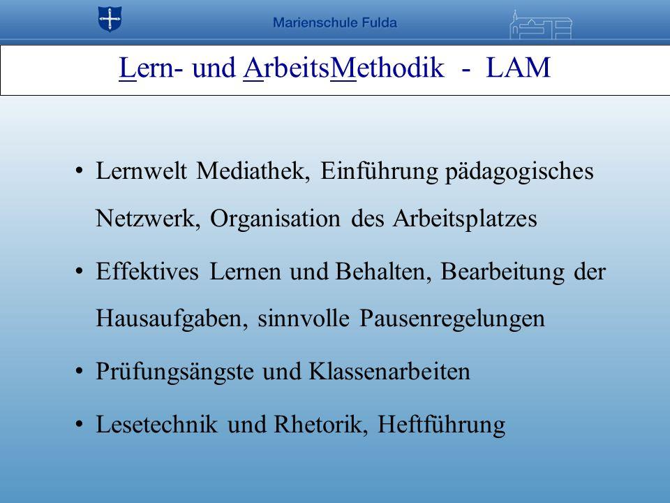 Lern- und ArbeitsMethodik - LAM