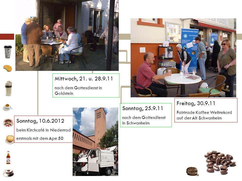 Fotos Mittwoch, 21. u. 28.9.11 Freitag, 30.9.11 Sonntag, 25.9.11