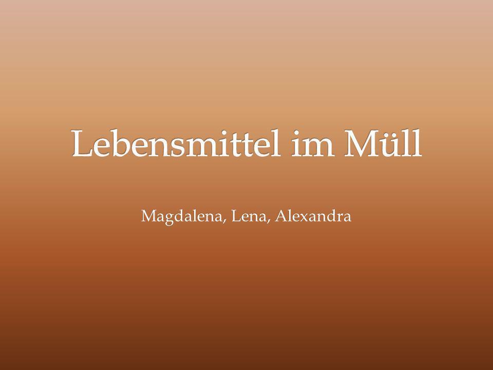 Magdalena, Lena, Alexandra
