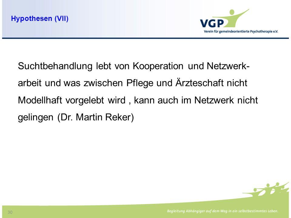 Suchtbehandlung lebt von Kooperation und Netzwerk-