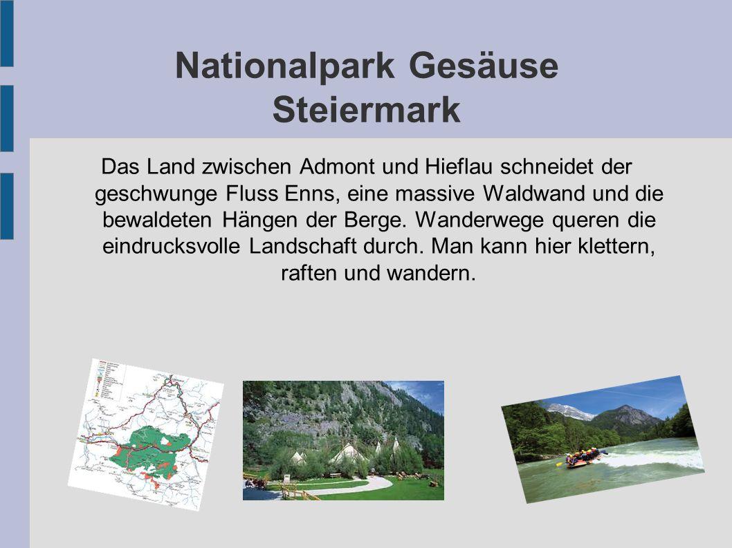 Nationalpark Gesäuse Steiermark