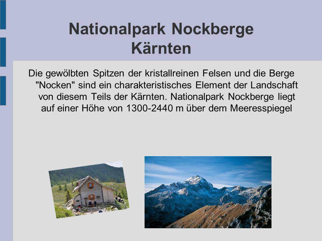 Nationalpark Nockberge Kärnten