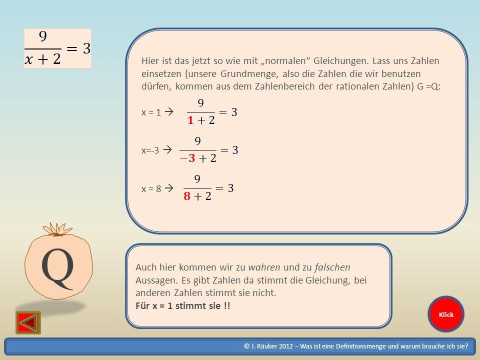 """Hier ist das jetzt so wie mit """"normalen Gleichungen"""