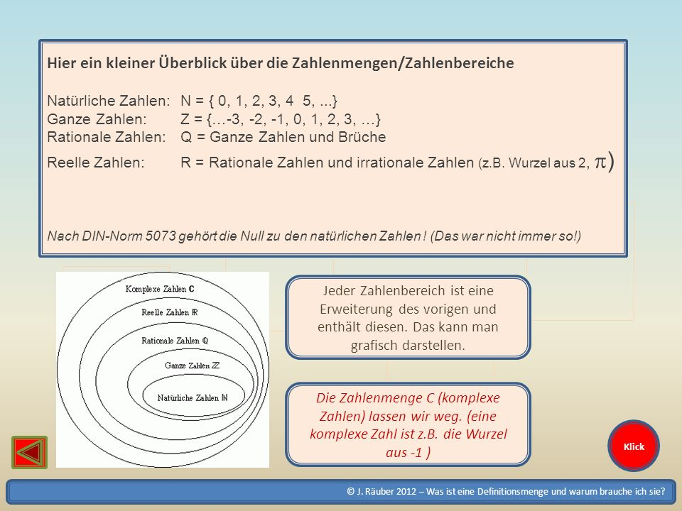 Hier ein kleiner Überblick über die Zahlenmengen/Zahlenbereiche