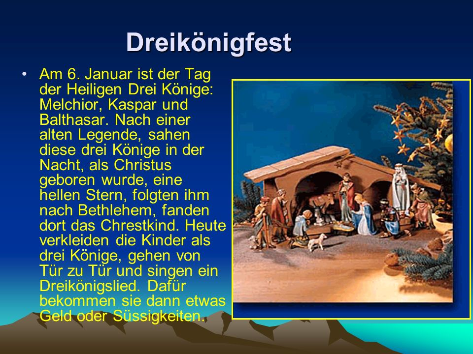 Dreikönigfest
