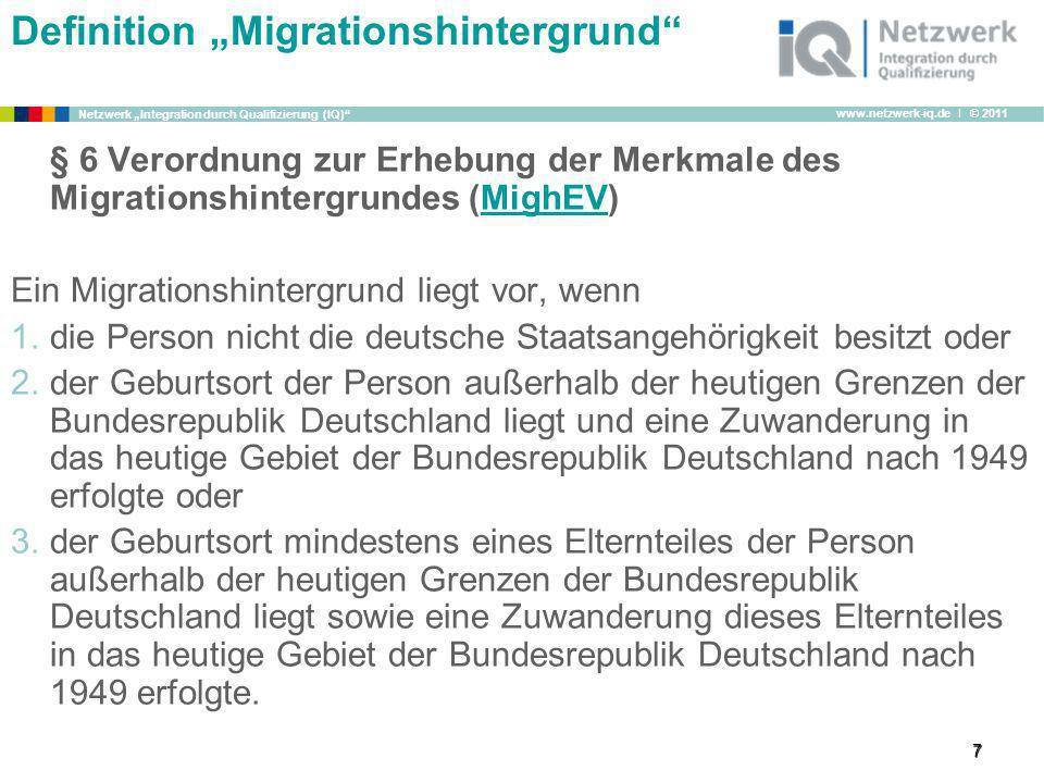 "Definition ""Migrationshintergrund"