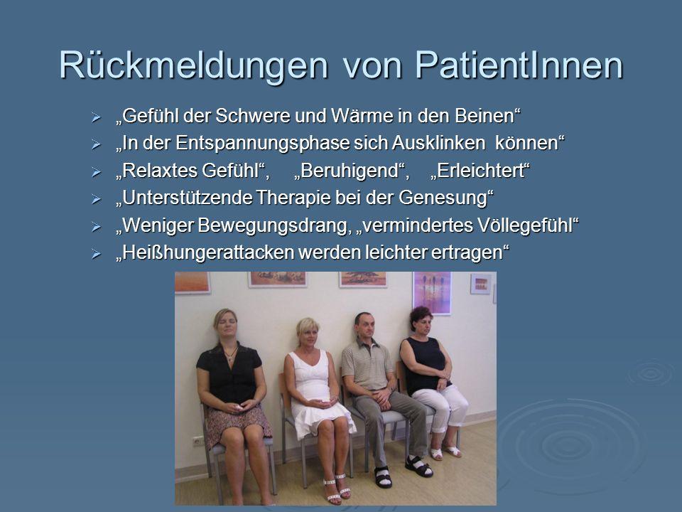 Rückmeldungen von PatientInnen