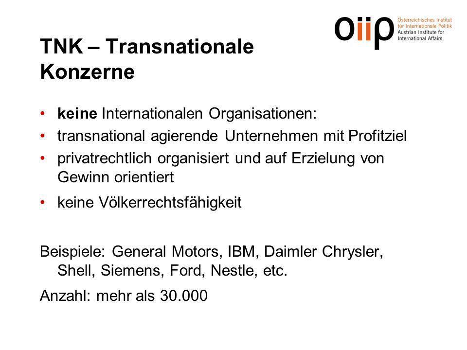TNK – Transnationale Konzerne