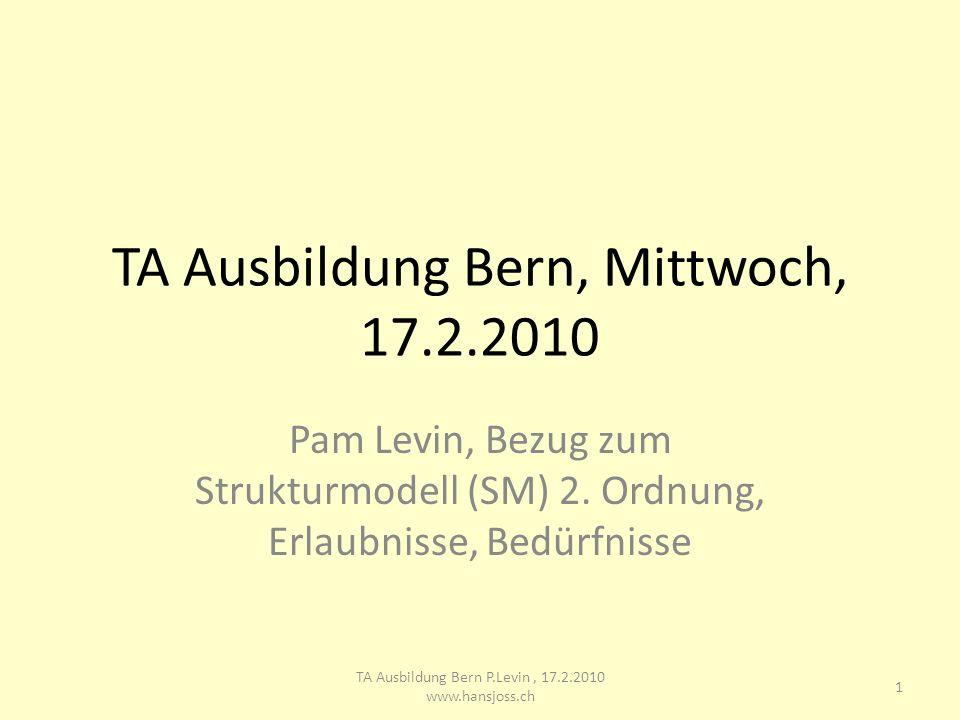 TA Ausbildung Bern, Mittwoch, 17.2.2010