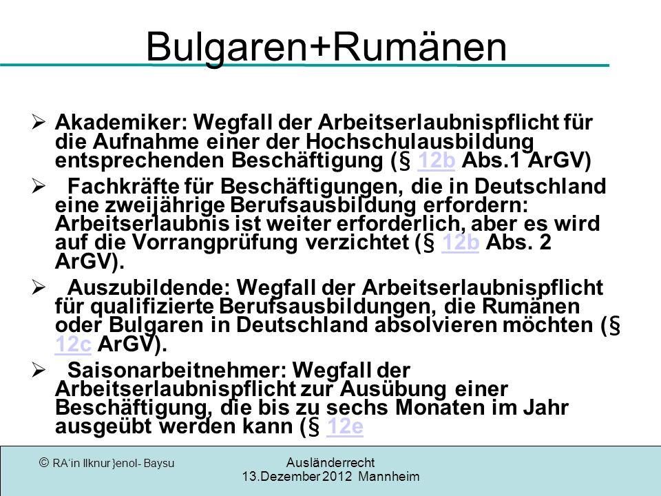 Bulgaren+Rumänen