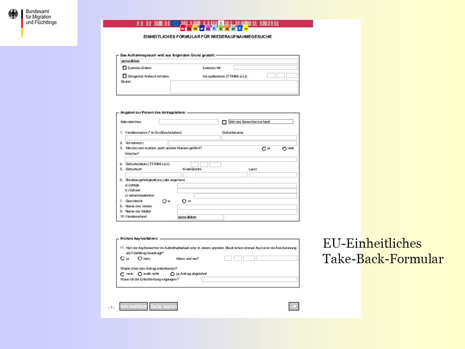 EU-Einheitliches Take-Back-Formular