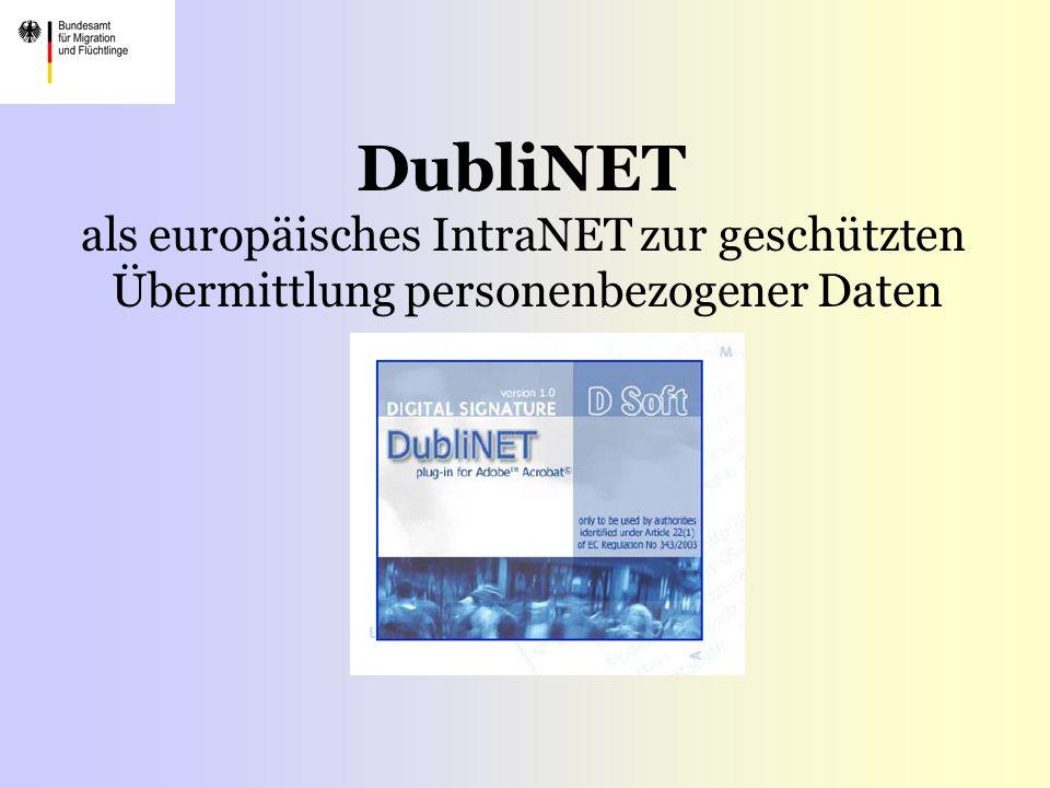 DubliNET als europäisches IntraNET zur geschützten