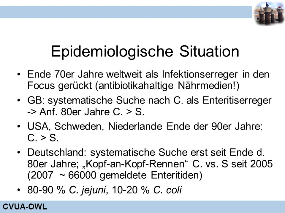 Epidemiologische Situation