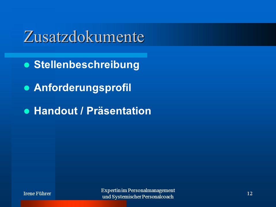 Expertin im Personalmanagement und Systemischer Personalcoach