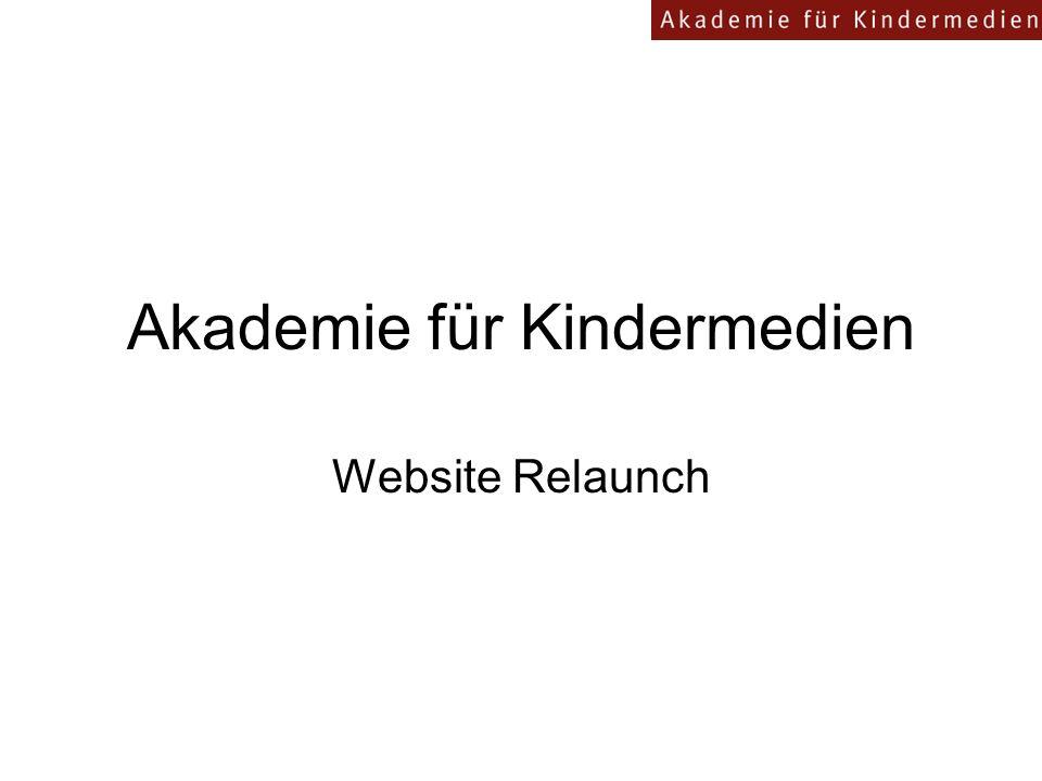 Akademie für Kindermedien