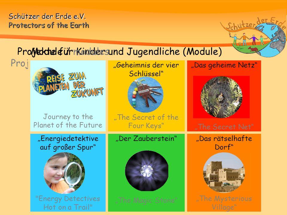 Projekte für Kinder und Jugendliche (Module)