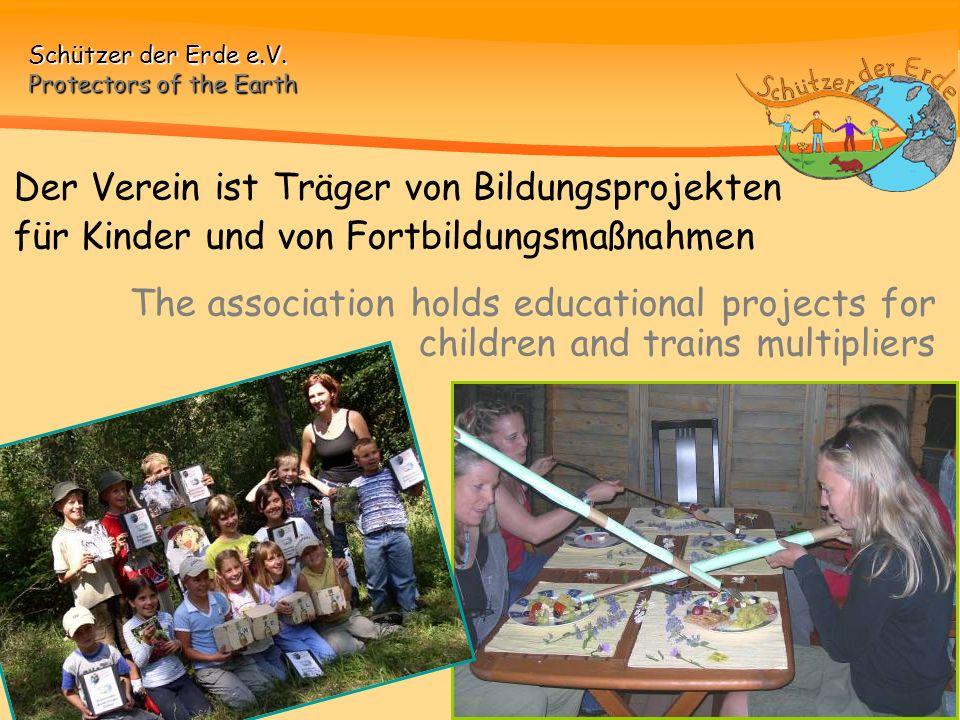 Der Verein ist Träger von Bildungsprojekten